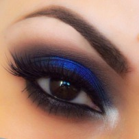 Dark Blue Smokey EyeshadowMatte Eyeshadow
