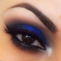 Dark Blue Smokey EyeshadowMatte Eyeshadow