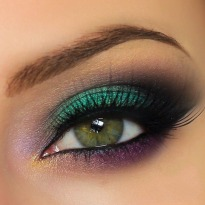 Peacock Matte Eyeshadow, Smokey Eyeshadow
